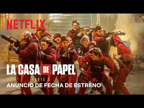 La casa de papel: Parte 5   Anuncio de fecha de estreno   Netflix