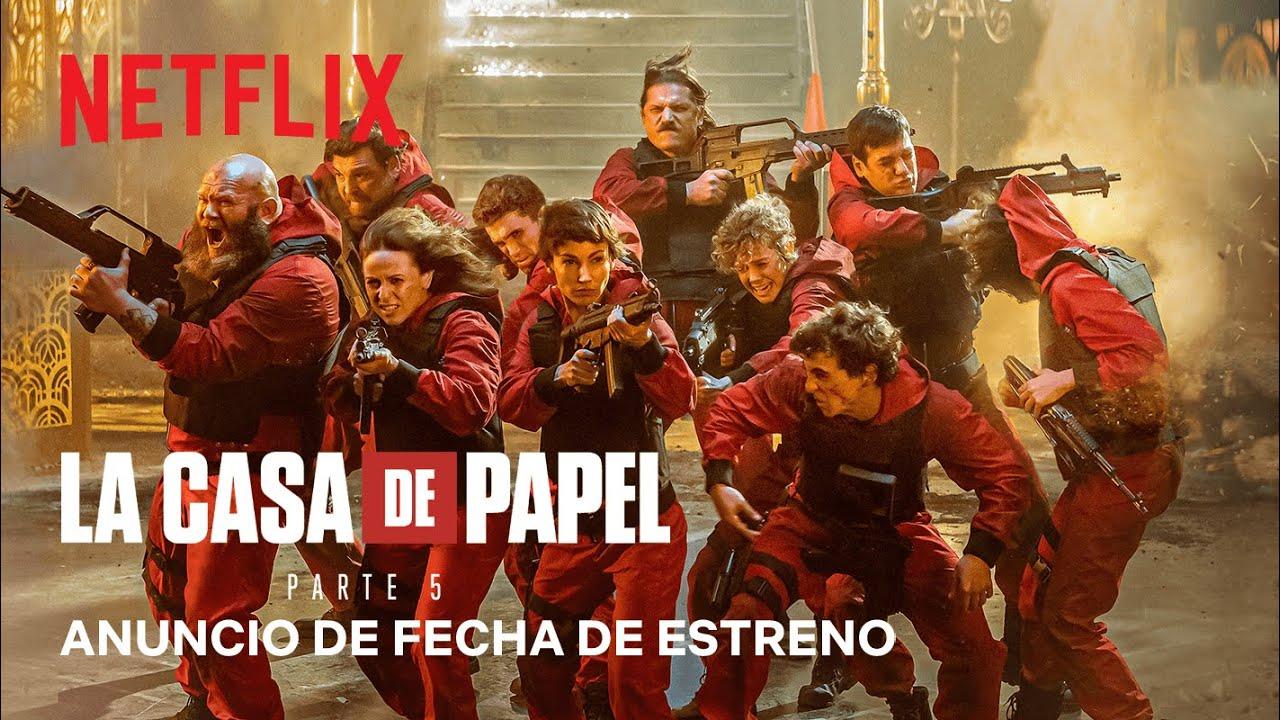 La Casa de Papel: Parte 5 | Netflix