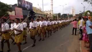 RSS ROUTE MARCH 2014 TRIVANDRUM KERALA