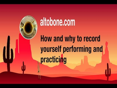 How to become a better musician by recording yourself