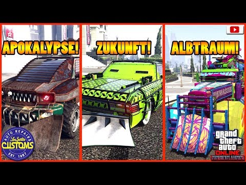 🤯🛠ALLE 36 Arena Auto Versionen Im Tuning Überblick!🤯🛠[GTA 5 Online Arena War Update DLC] thumbnail