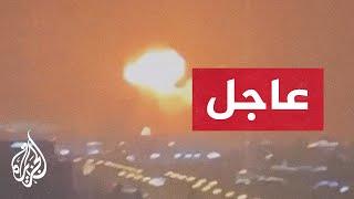 عاجل   حريق ناجم عن انفجار موضعي جنوبي دبي قرب مخازن وقود