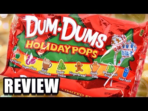 Limited Edition Christmas Dum-Dums REVIEW