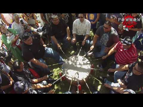Thunder Hill Singers Sunday Intertribal @ Rocky Boy Powwow 2016