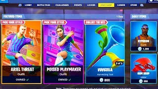 The SOCCER SKINS Return to Fortnite..