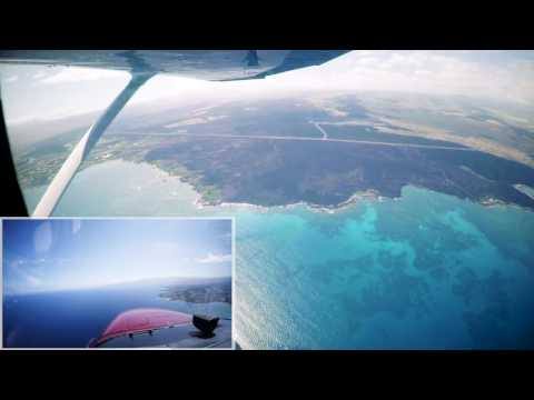 Hawaii Big Island Flight Entire Island with a Touch N Go at Hilo (ITO) - Cessna 172 Kona Kilo