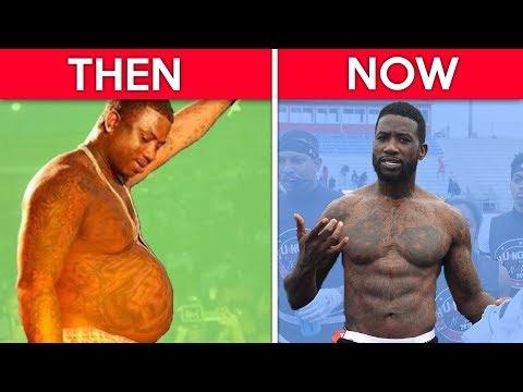 8 Unbelievable Rapper Body Transformations Drake Gucci Mane & MORE