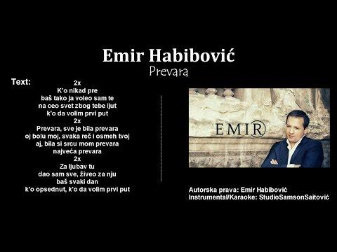 Emir Habibovic - Prevara (Instrumental/Karaoke) - StudioSamsonSaitovic