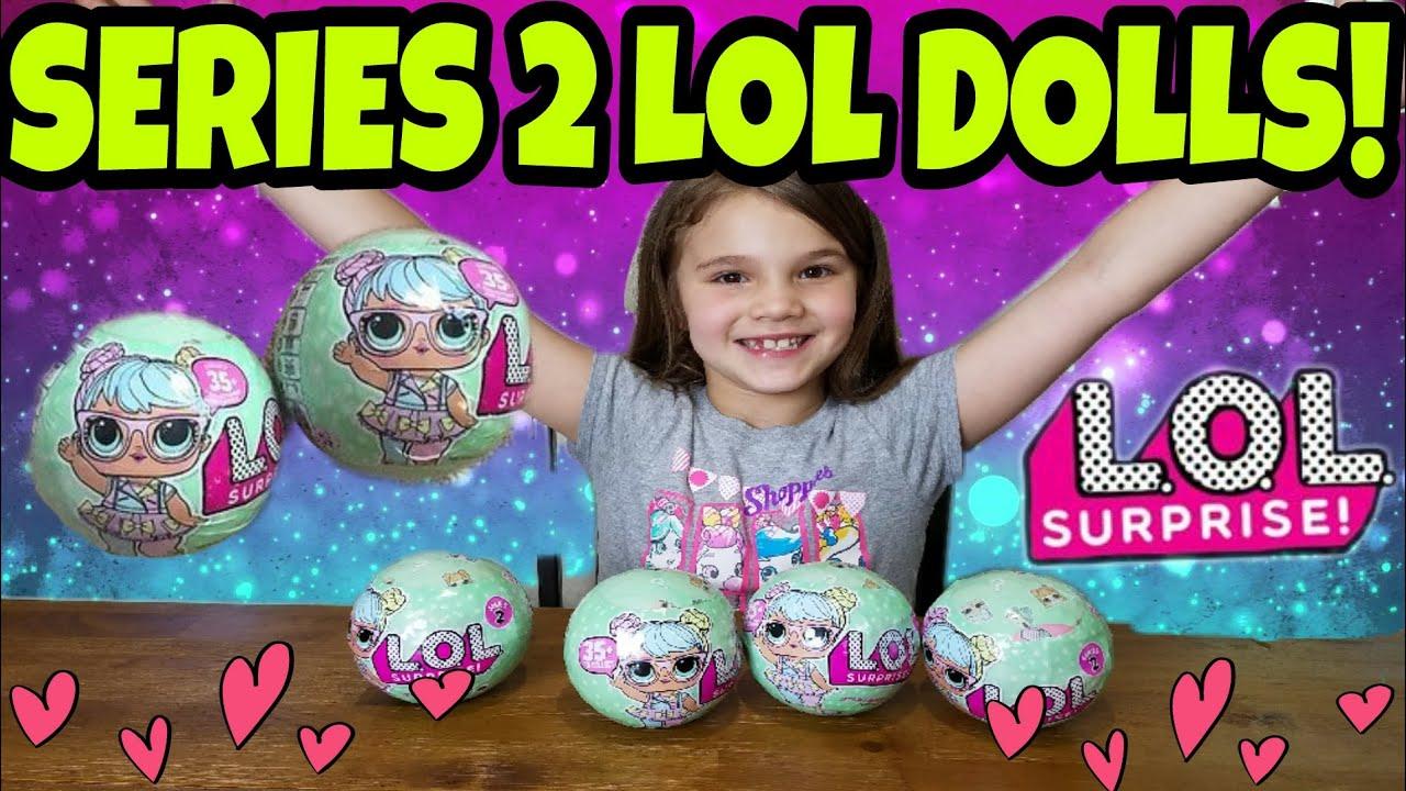 New! Series 2 LOL Dolls! - YouTube