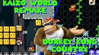 Recreación de un kaizo Mario world (5 niveles de subs) | Mario maker en español