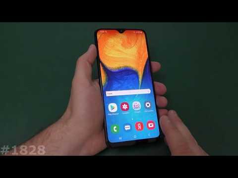 Hard Reset Samsung A20. Режим прошивки Samsung A205