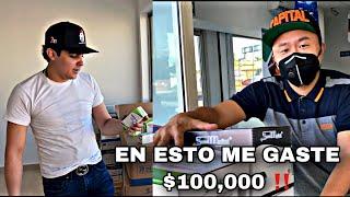 ESTO COMPRE CON 100MIL PESOS | EL CHINO ME ACOMPAÑO