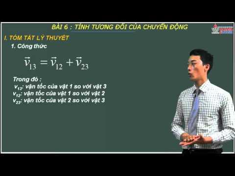 Bài giảng vật lý 10 - Tính tương đối của chuyển động - Cadasa.vn