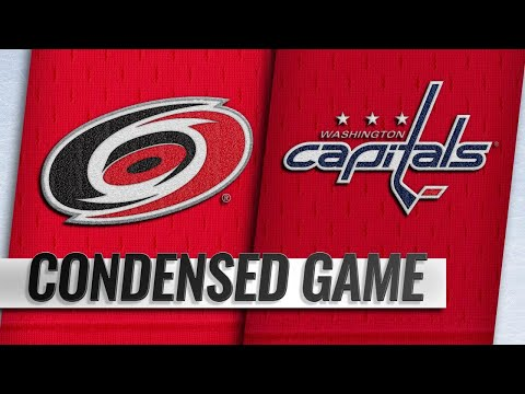 09/28/18 Condensed Game: Hurricanes @ Capitals