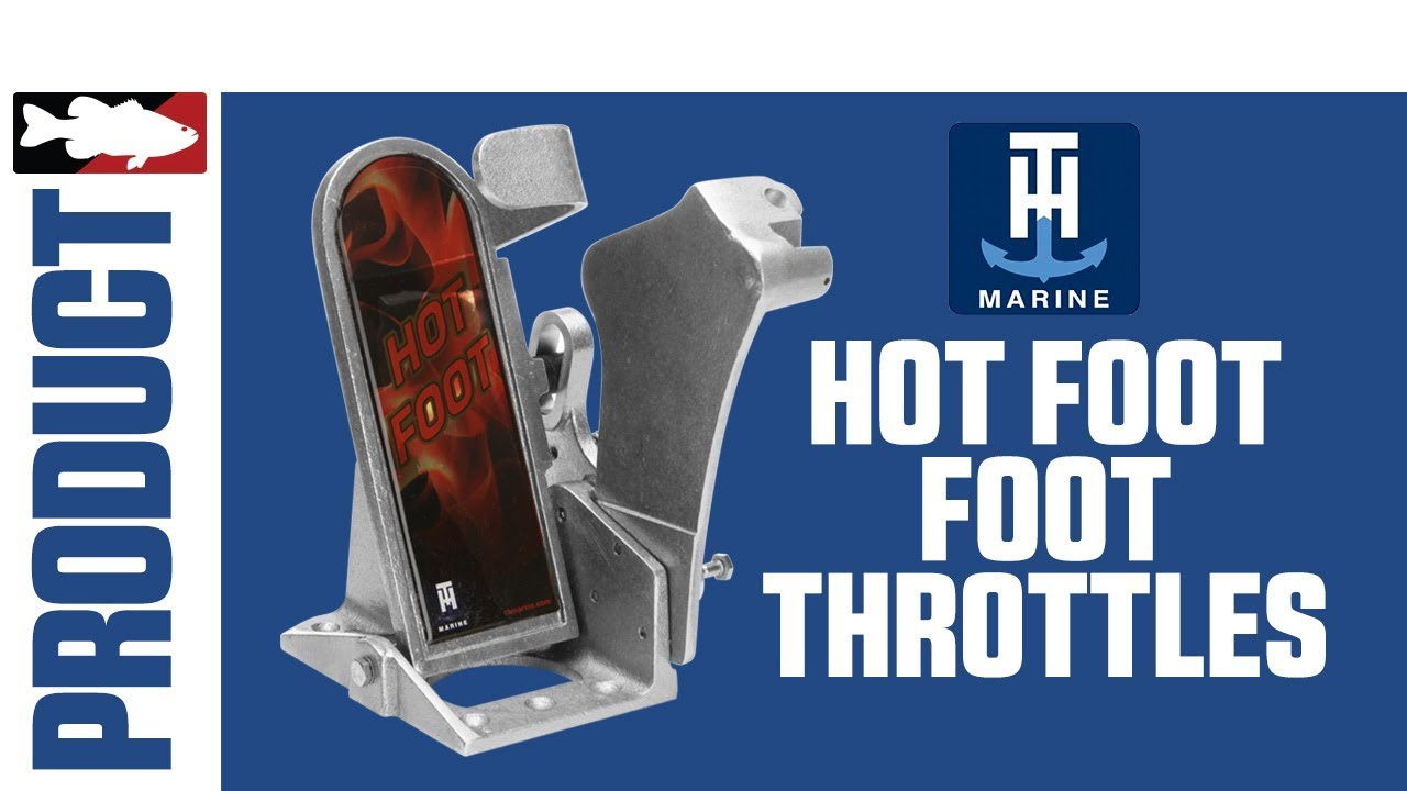 Jared Lintner and Alex Davis Talk about the T-H Marine Hot Foot Throttles