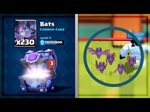 Clash Royale - BATS MADNESS! Chief Bat Deck