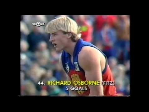 Fitzroy v Footscray 1988