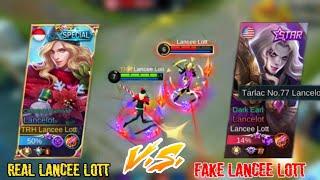 Download lagu Lancelot vs Lancelot   REAL VS FAKE Lancee Lott   NAGHANAP AKO NG POSER KO! Natalo kaya ako?   MLBB