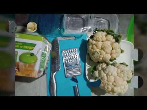 How to make cauliflower rice – lowcarb diet – Lose weight fast without exercise