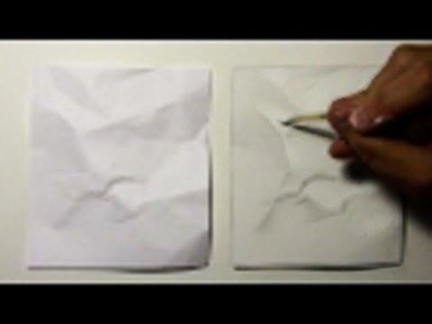 לצייר דף נייר