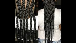 how to close gaps in your braids and prolong the life of them