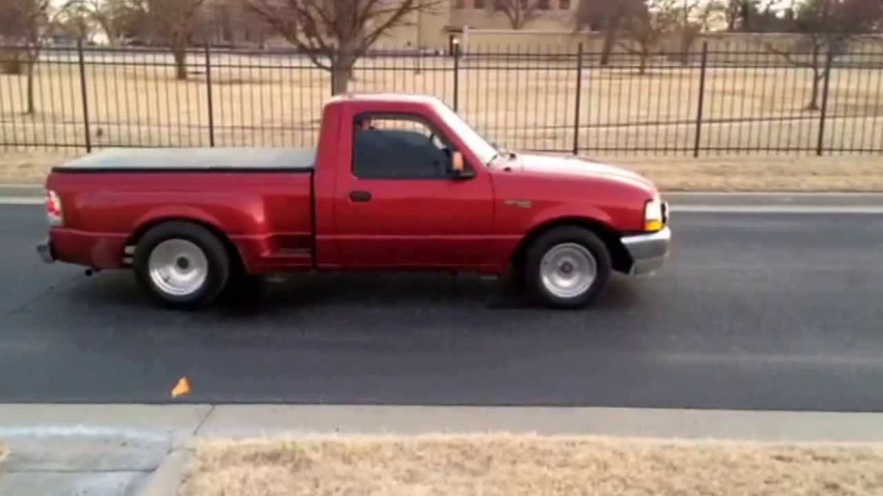 Lowered Ford Ranger Burnout