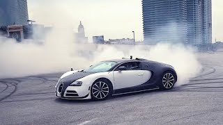 WE DESTROY A $2.4 MILLION BUGATTI DOING DONUTS!!! *ALL ERROR CODES ON DASH-*
