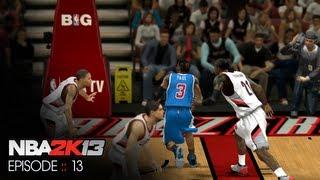 BdoubleO Plays NBA 2k13 :: Portland Trailblazers
