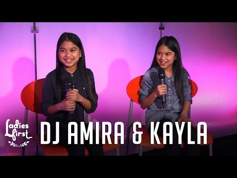DJ's Amira & Kayla SLAYED Their DJ Set On Ladies First