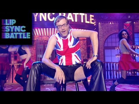 Stephen Merchants Dirrty vs Malin Åkermans Talk Dirty  Lip Sync Battle