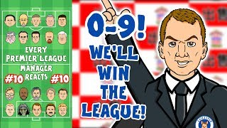 😲9-0!😲 #10 Every Premier League Manager Reacts! (Southampton vs Leicester)