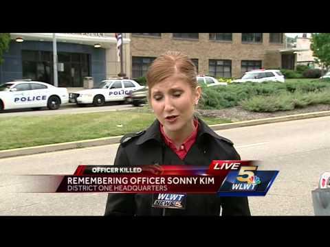 Friends, community members honor Cincinnati Police Officer Sonny Kim
