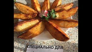 Картофель по-деревенски на сковороде: рецепт от Foodman.club