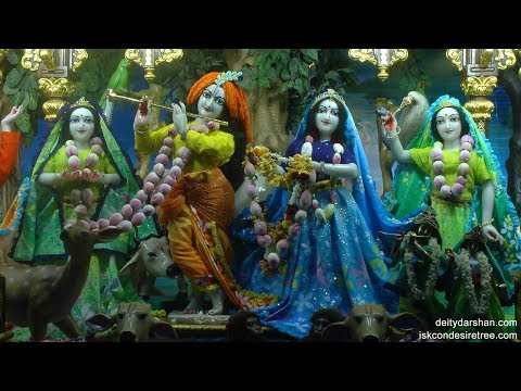 Sri Sri Radha Gopinath Temple Mangal Arati Darshan 24th Apr 2018 Live from ISKCON Chowpatty,Mumbai