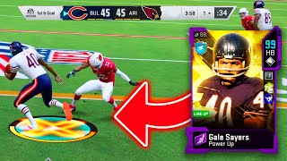 99 OVERALL GALE SEYERS HAS SEVERE FUMBLEITIS!!! AVOID!!!!! - Madden 20 Ultimate Team