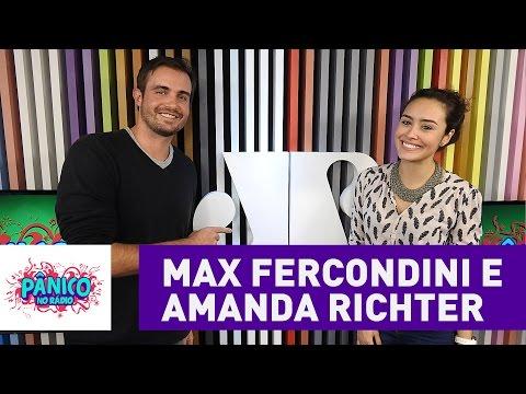 Max Fercondini e Amanda Richter - Pânico - 02/09/16