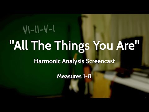 """Screencast Harmonic Analysis  