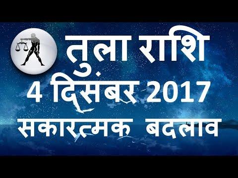 AAJ KA RASHIFAL TULA 4 December 2017, Horoscope in Hindi, जानिए कैसा रहेगा आपका आज का दिन