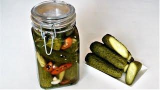 Малосольные огурцы готовы за 5- 8 часов.Как приготовить малосль. How to cook lightly salted cucumber