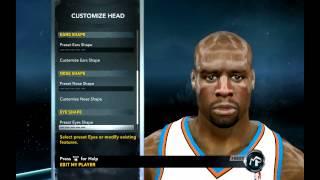 NBA 2k12 wie erstellen shaquille o ' Neal