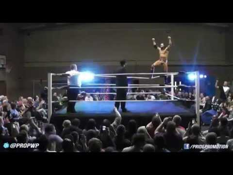 former WWE star Mason Ryan vs PWP heavyweight champion Chris Andrews - Full Match