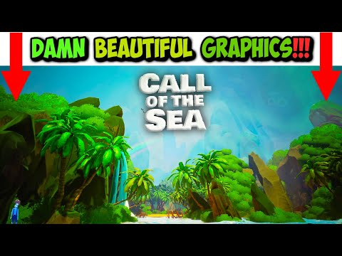 🎮Damn Beautiful🌊 CALL OF THE SEA - Let's Play with Bob |