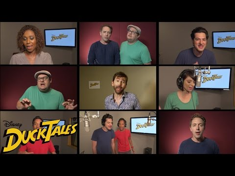 "The revealed cast of Disney's all-new ""DuckTales"" sings the original theme song"
