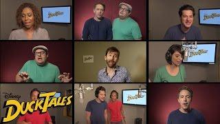 Скачать All New DuckTales Cast Sings Original Theme Song Disney XD