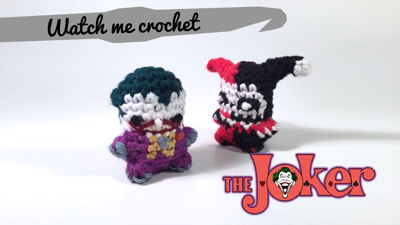 The Joker - Watch me Crochet - YouTube