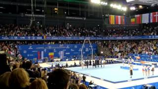 Finals European gym: DRAGULESCU - GOLD award for the floor performance