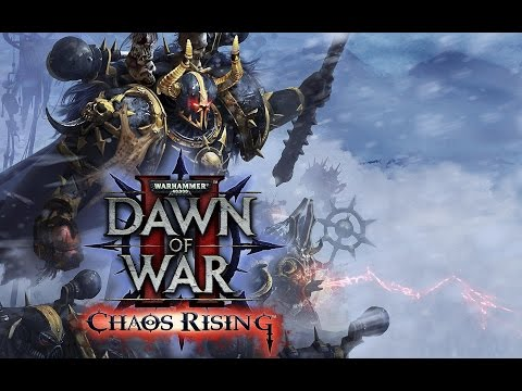 Warhammer 40000 Dawn Of War 2 Chaos Rising Игрофильм