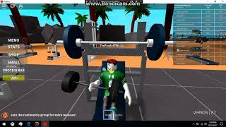 We're making some muscle? + entered mother over mn l Roblox L EP # 2