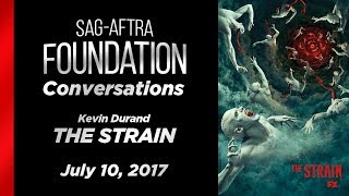 Conversations with Kevin Durand of THE STRAIN