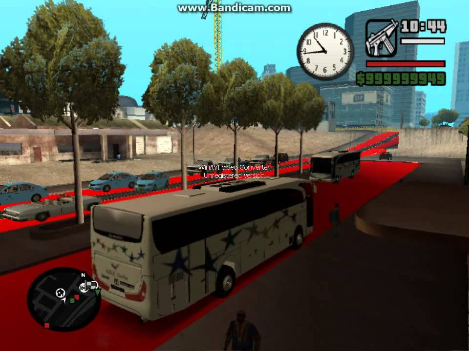 Bus Sjlu Tertabrak Kereta Gta San Andreas